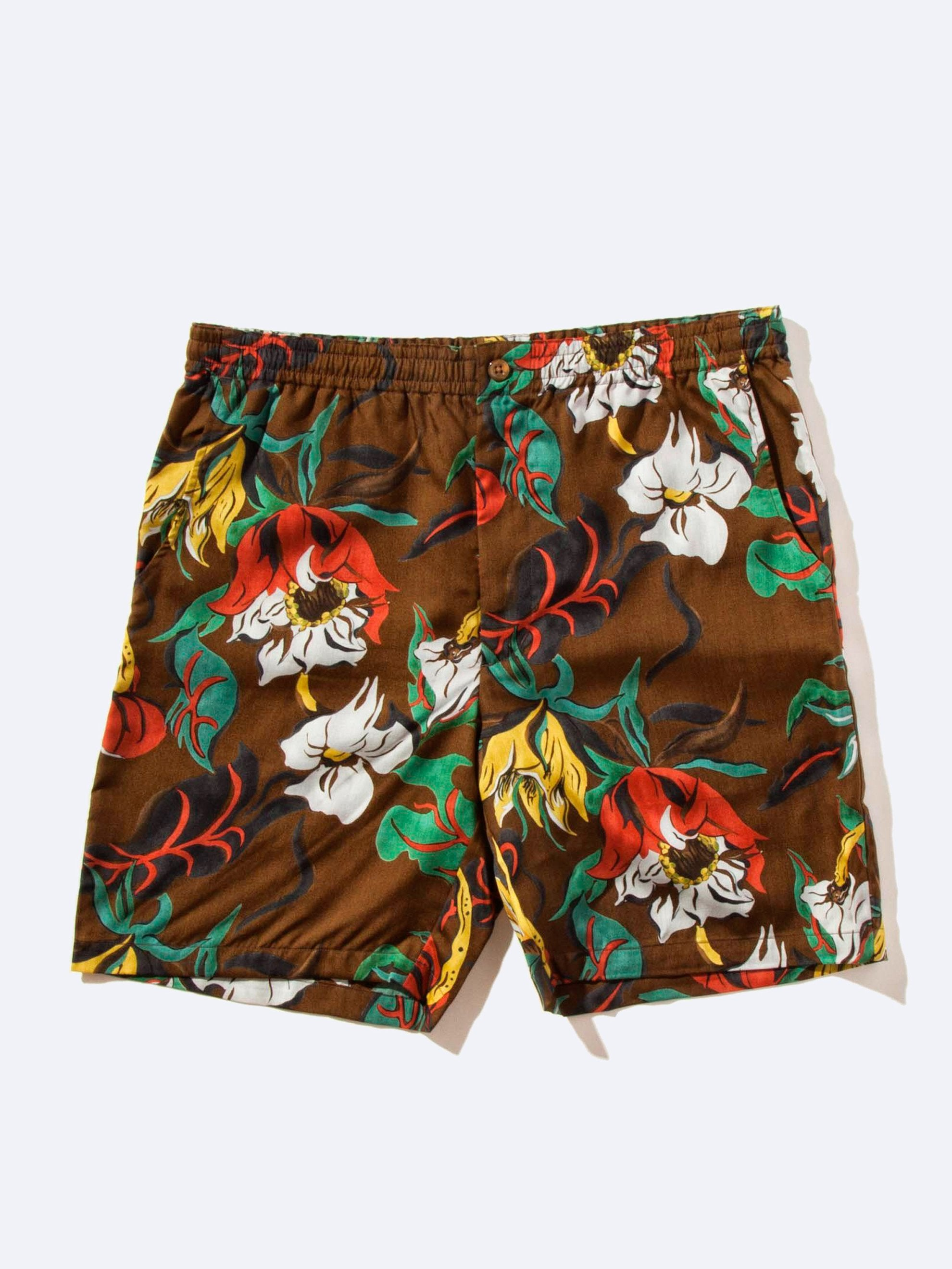 Floral Hawaiian Shorts