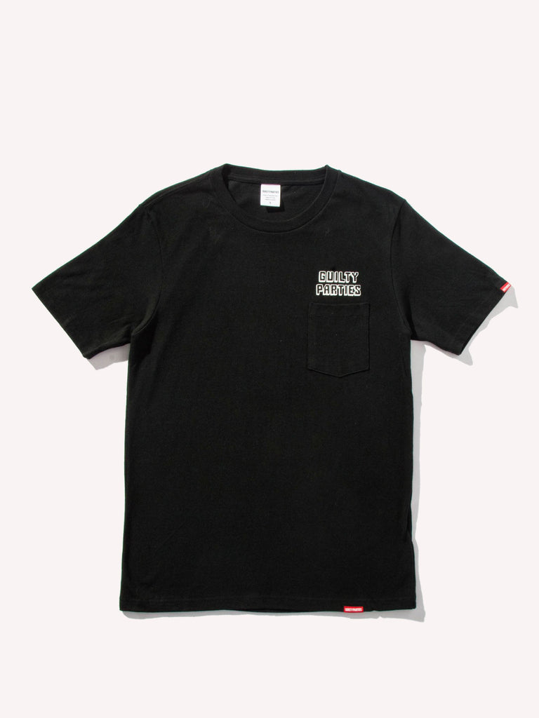 Heavy Weight Crew Neck Pocket T-Shirt (Type 1)