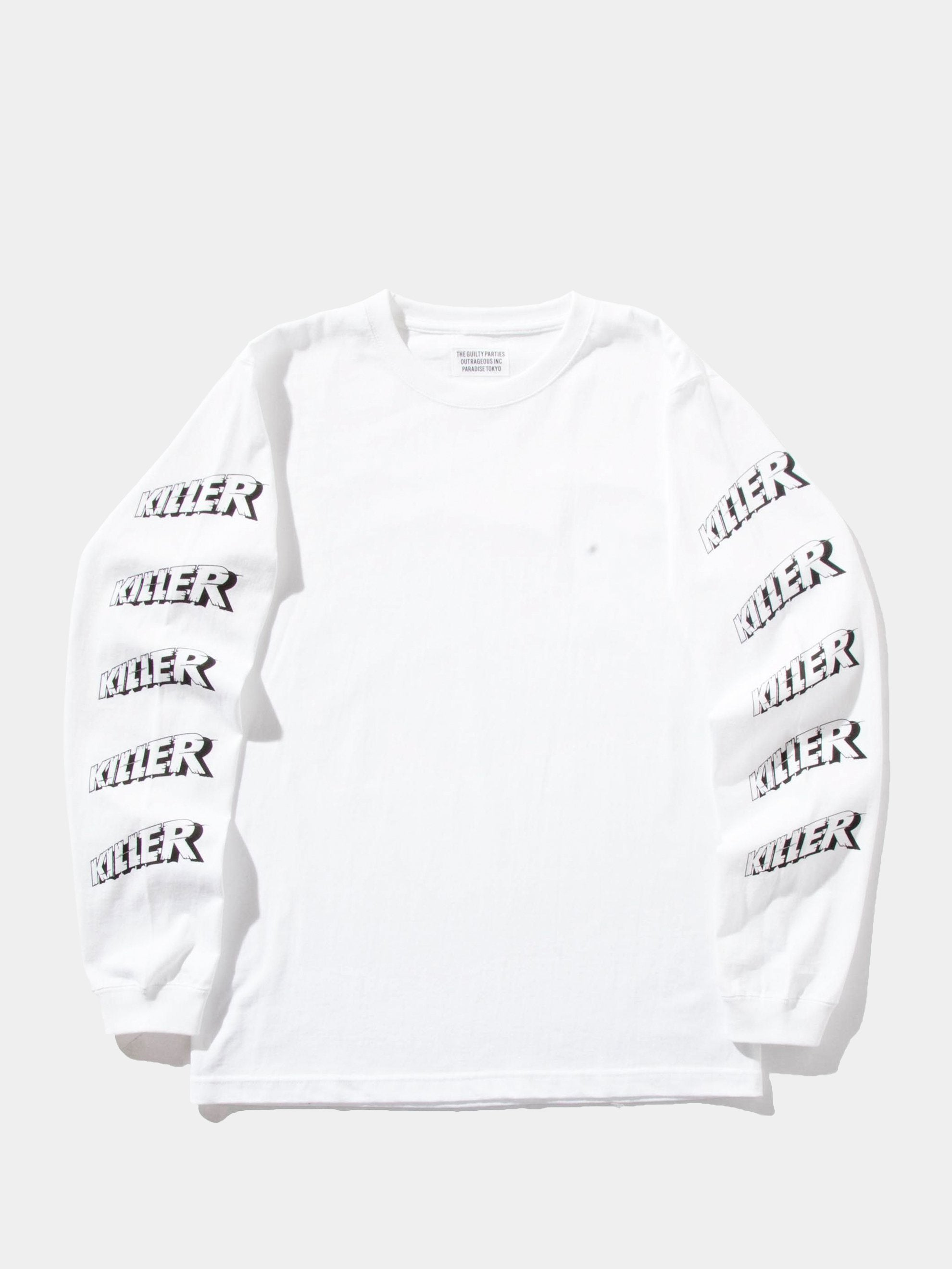Black Crew Neck Long Sleeve T-Shirt (Type-1) 1