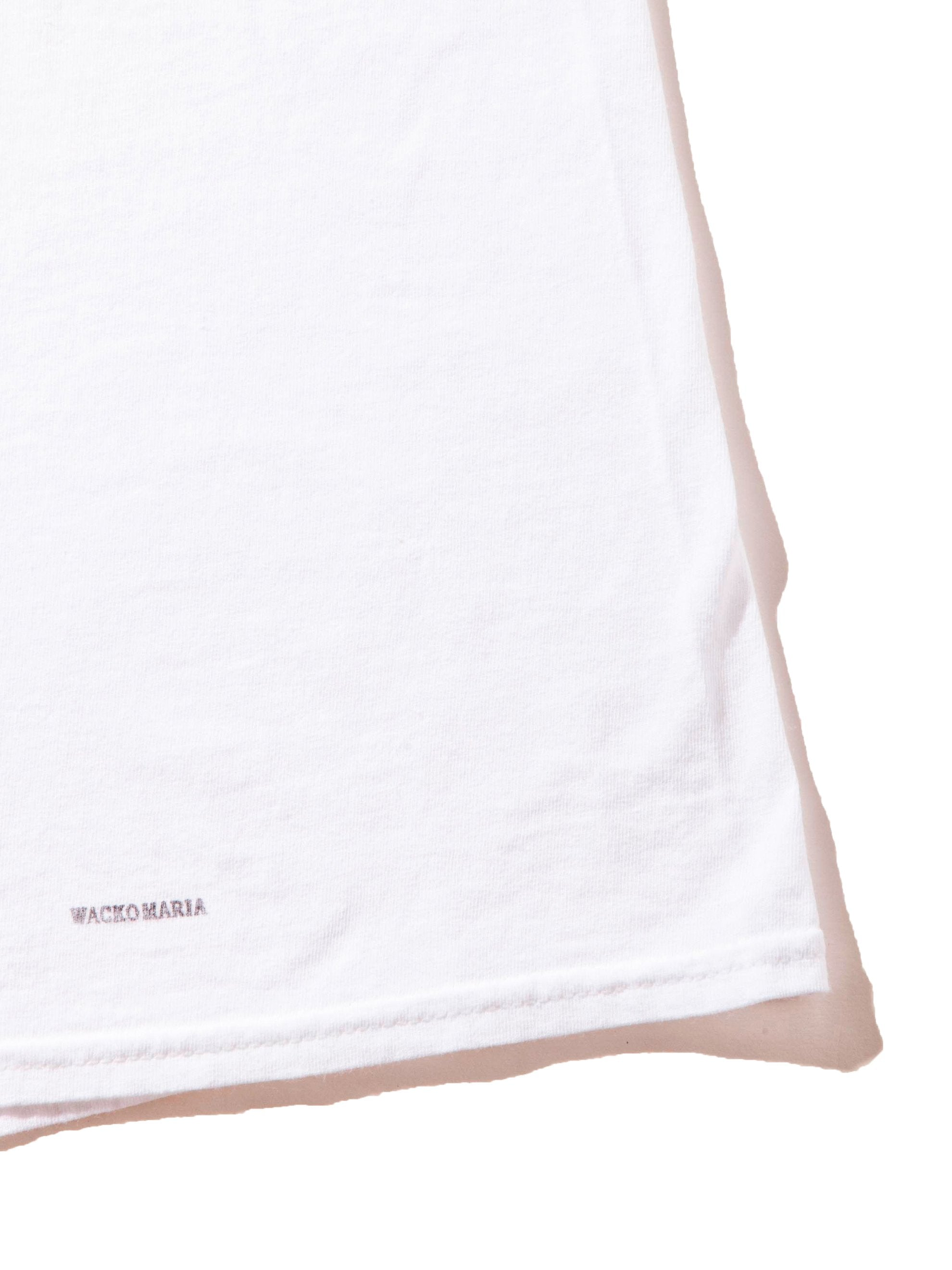 White Souvenior Crew Neck T-Shirt (Type 5) 5