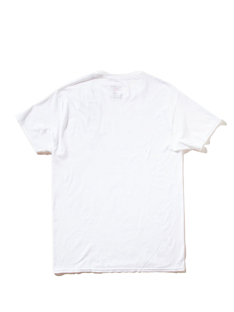 White Souvenior Crew Neck T-Shirt (Type 5) 623539471049