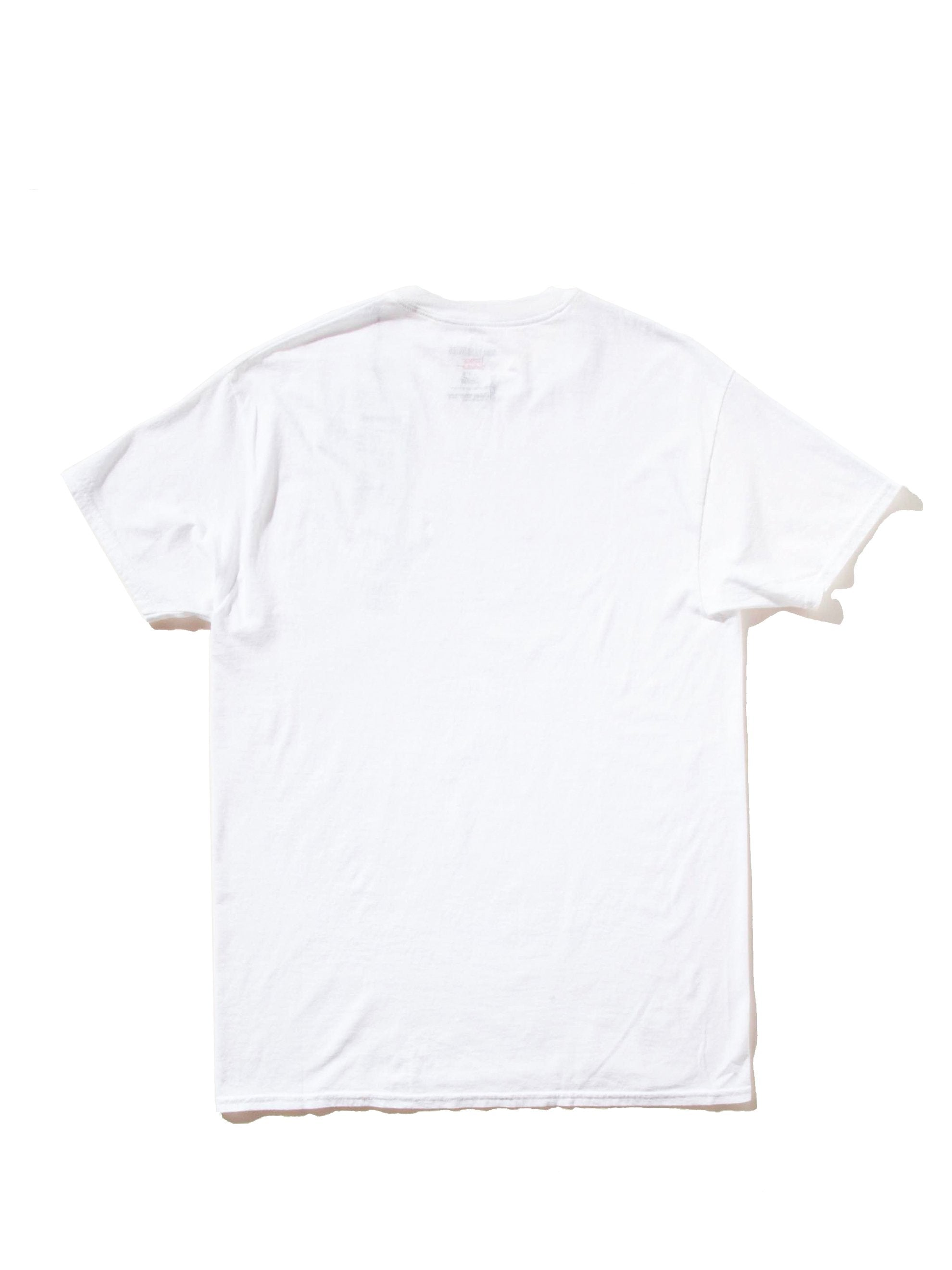 White Souvenior Crew Neck T-Shirt (Type 6) 6