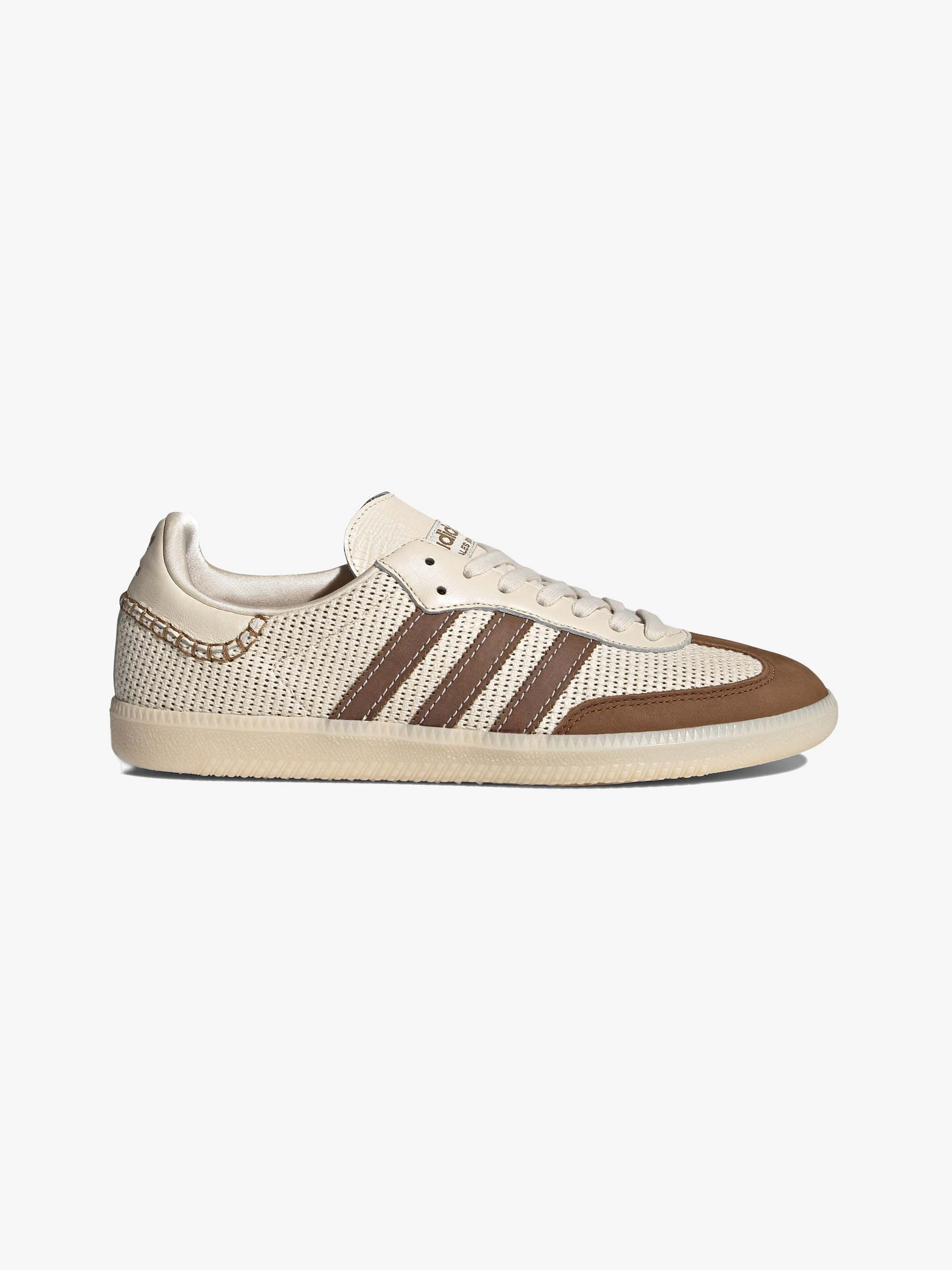 Cream White / Brown Adidas x Wales Bonner Samba 1