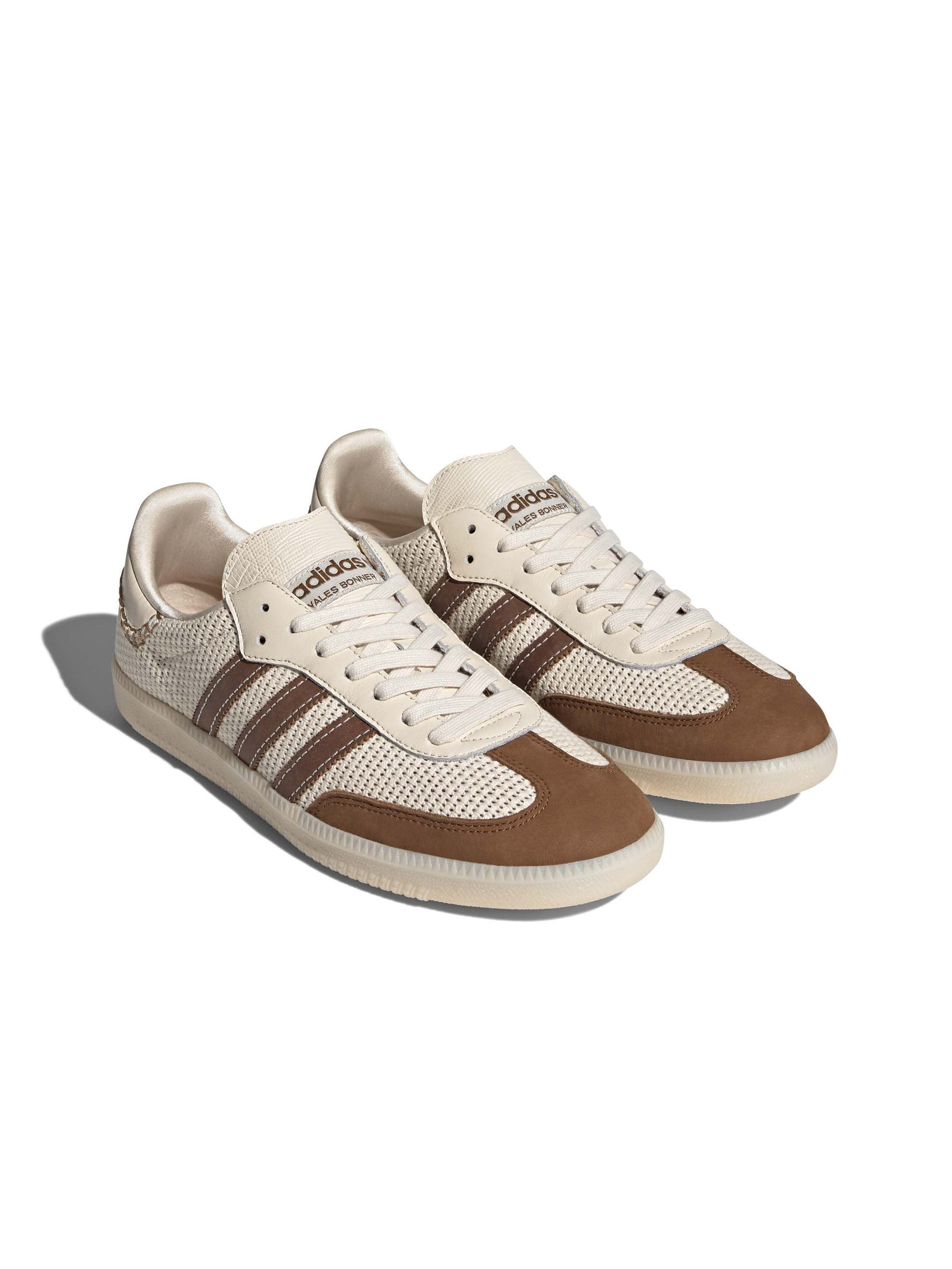 Cream White / Brown Adidas x Wales Bonner Samba 2