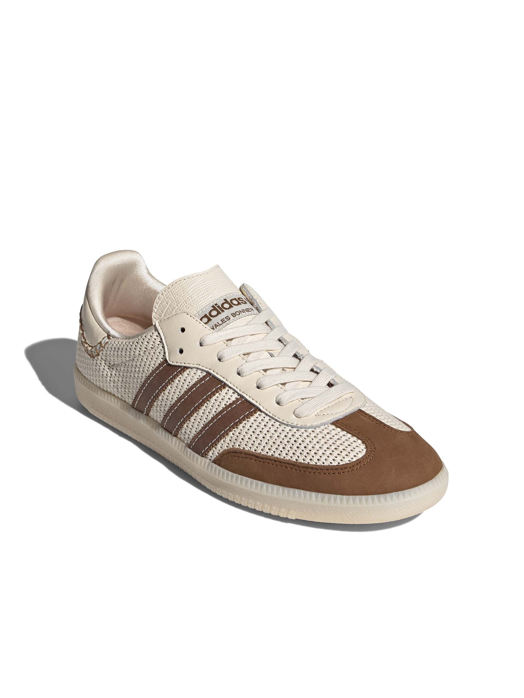 Cream White / Brown Adidas x Wales Bonner Samba 3