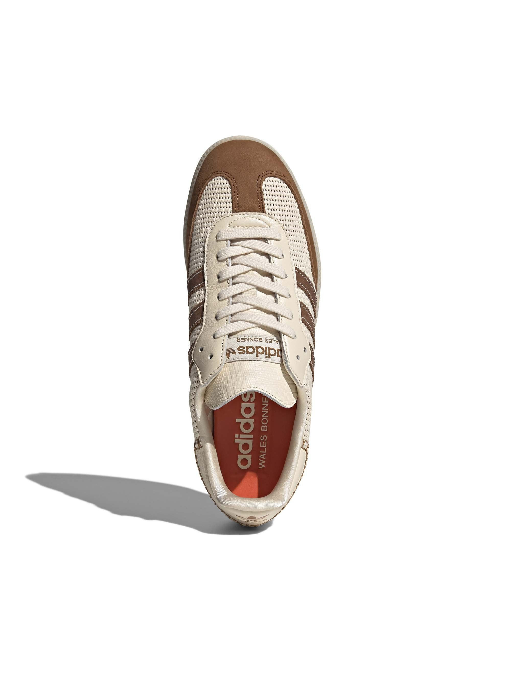Cream White / Brown Adidas x Wales Bonner Samba 4