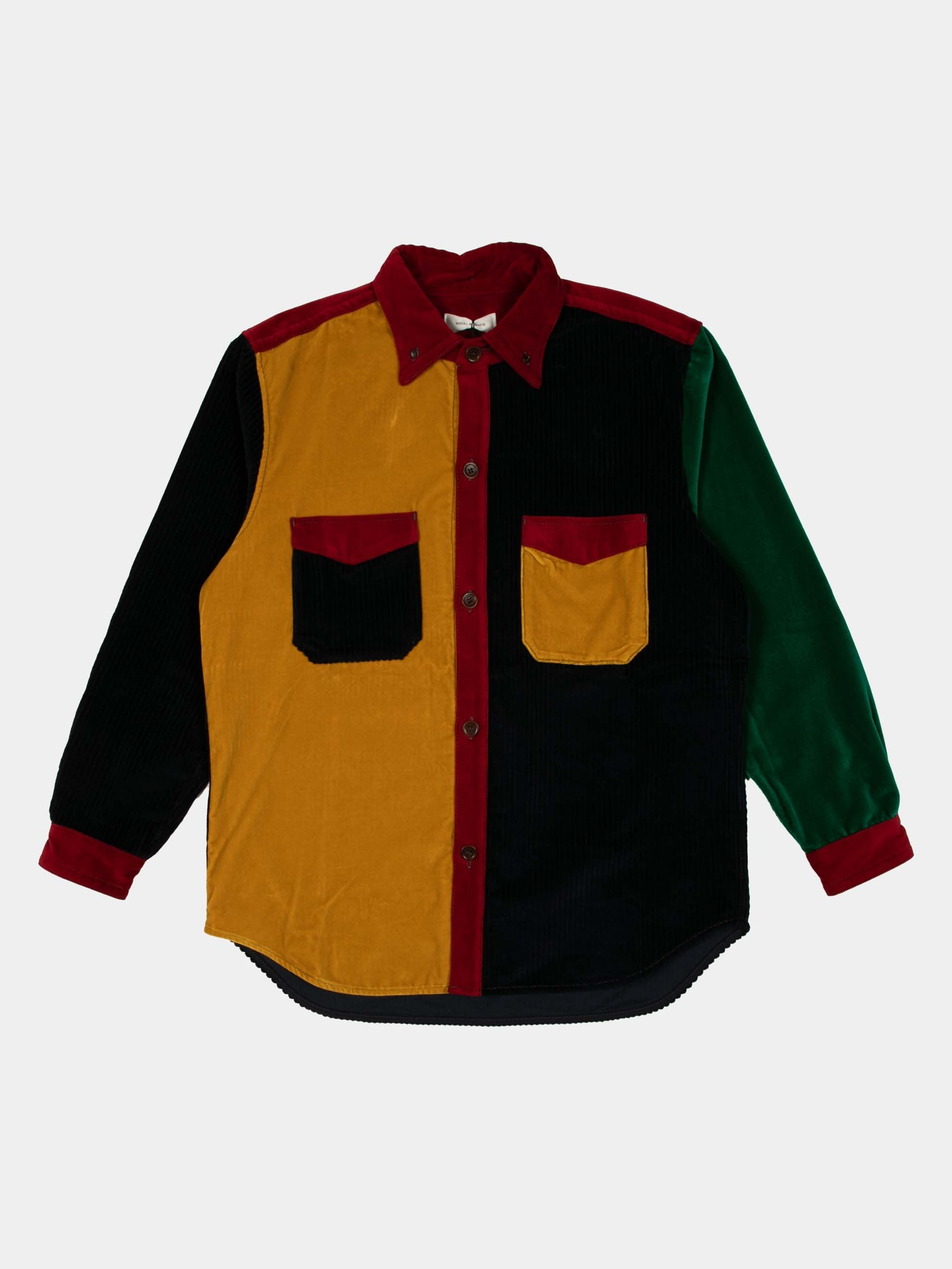 Multi Color Notting Hill Patchwork Shirt 1