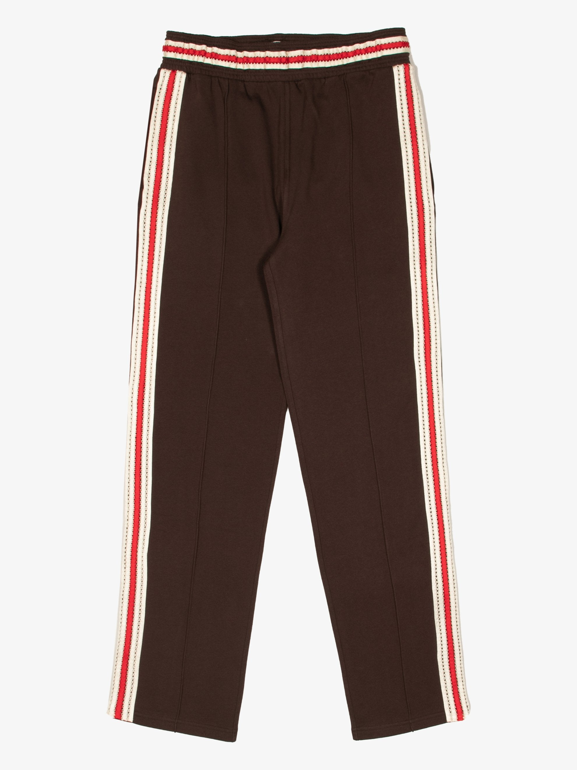 Palms Crochet Stripe Track Pants