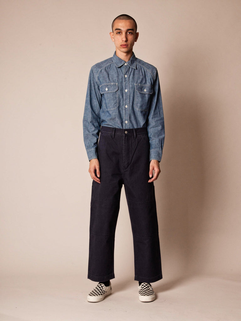 Navy Armstrong Trousers (Duck) 224217200201