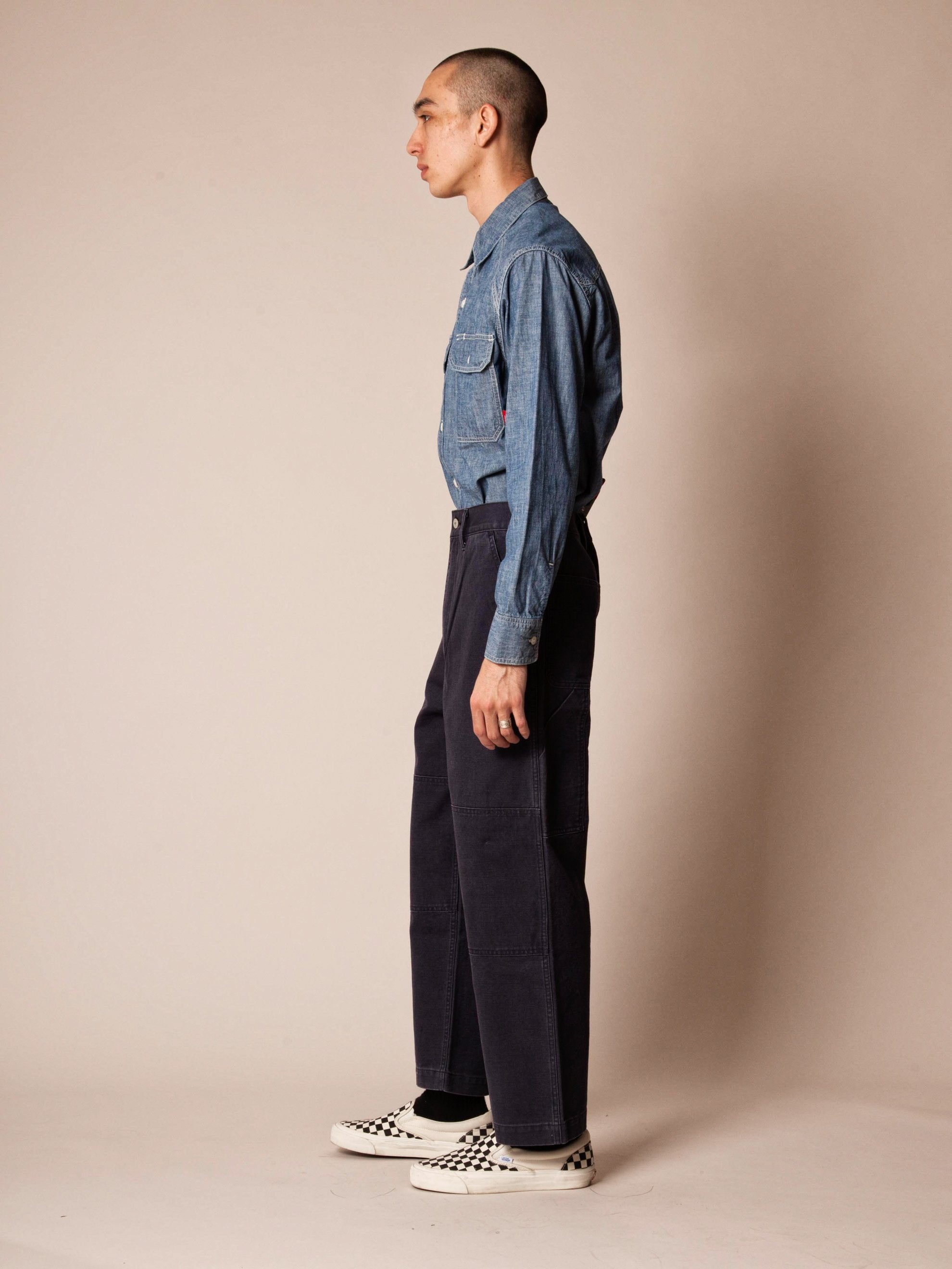Olive Drab Armstrong Trousers (Duck) 7