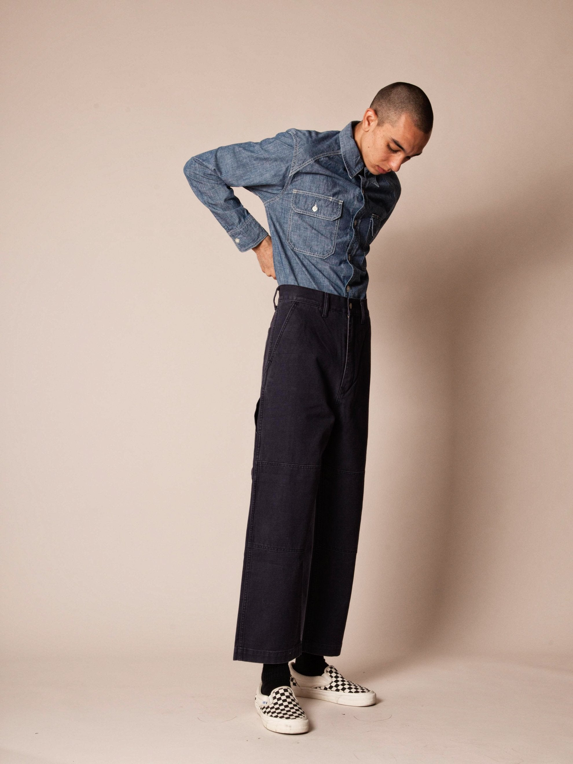 Olive Drab Armstrong Trousers (Duck) 8