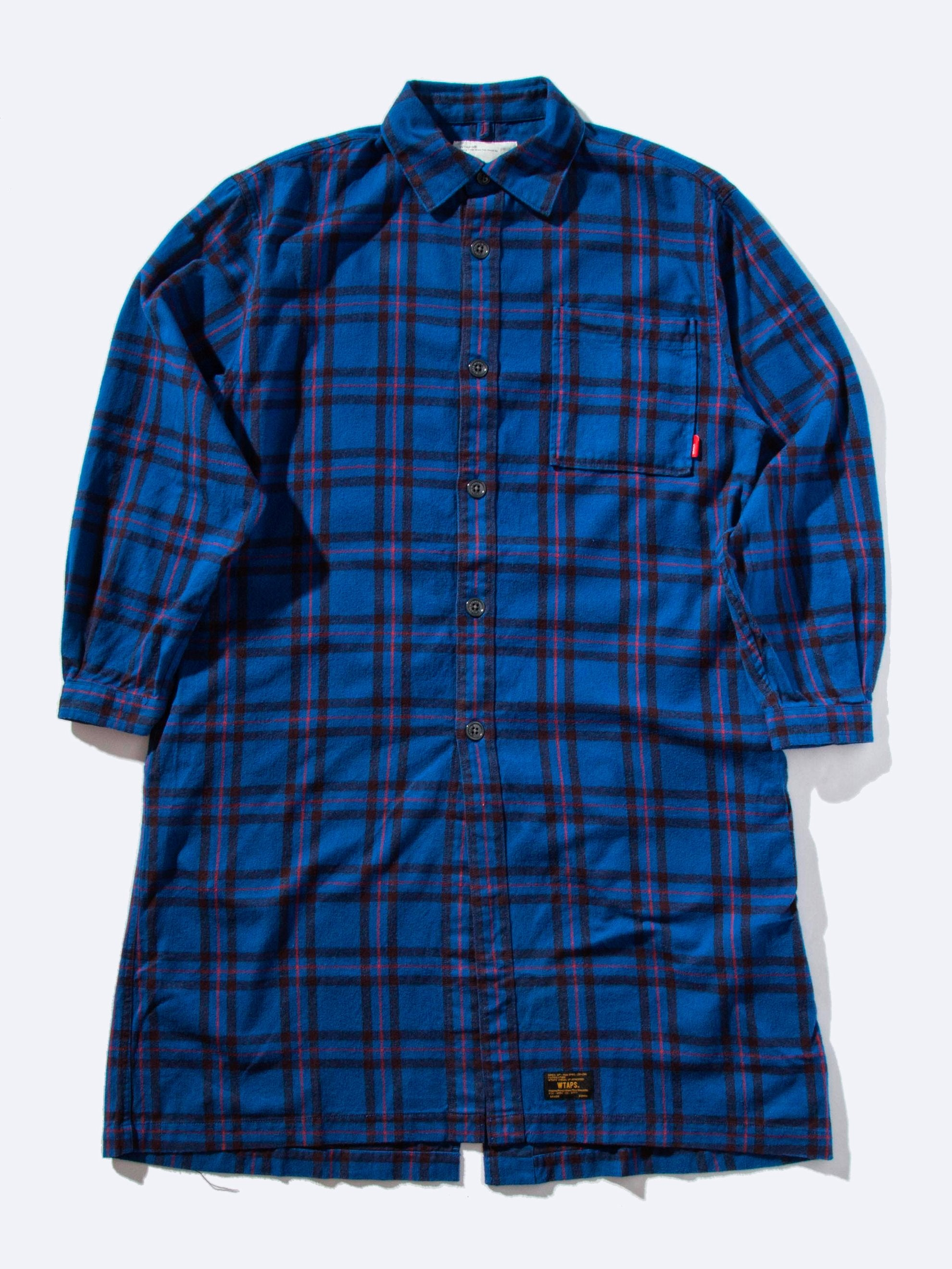 Blue Frock LS Shirt 1