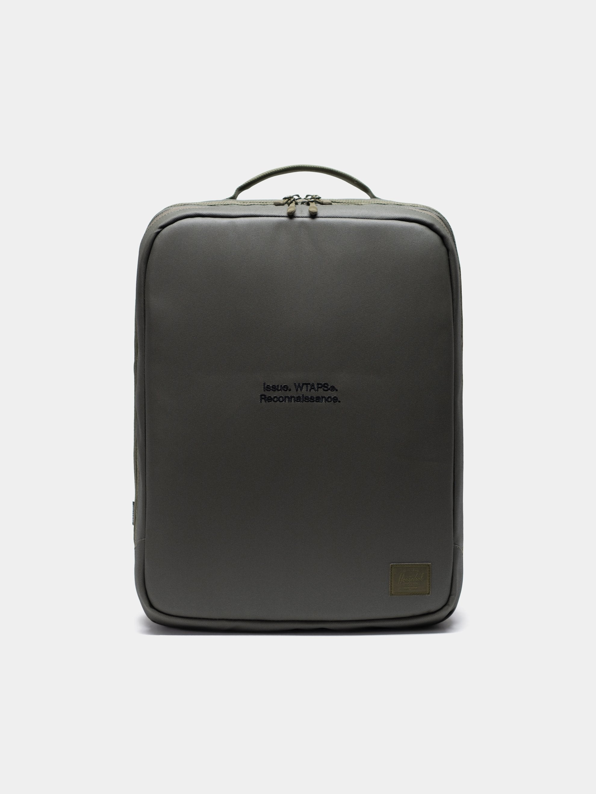 Burnt Olive Wtaps x Herschel Vessel Bag 1