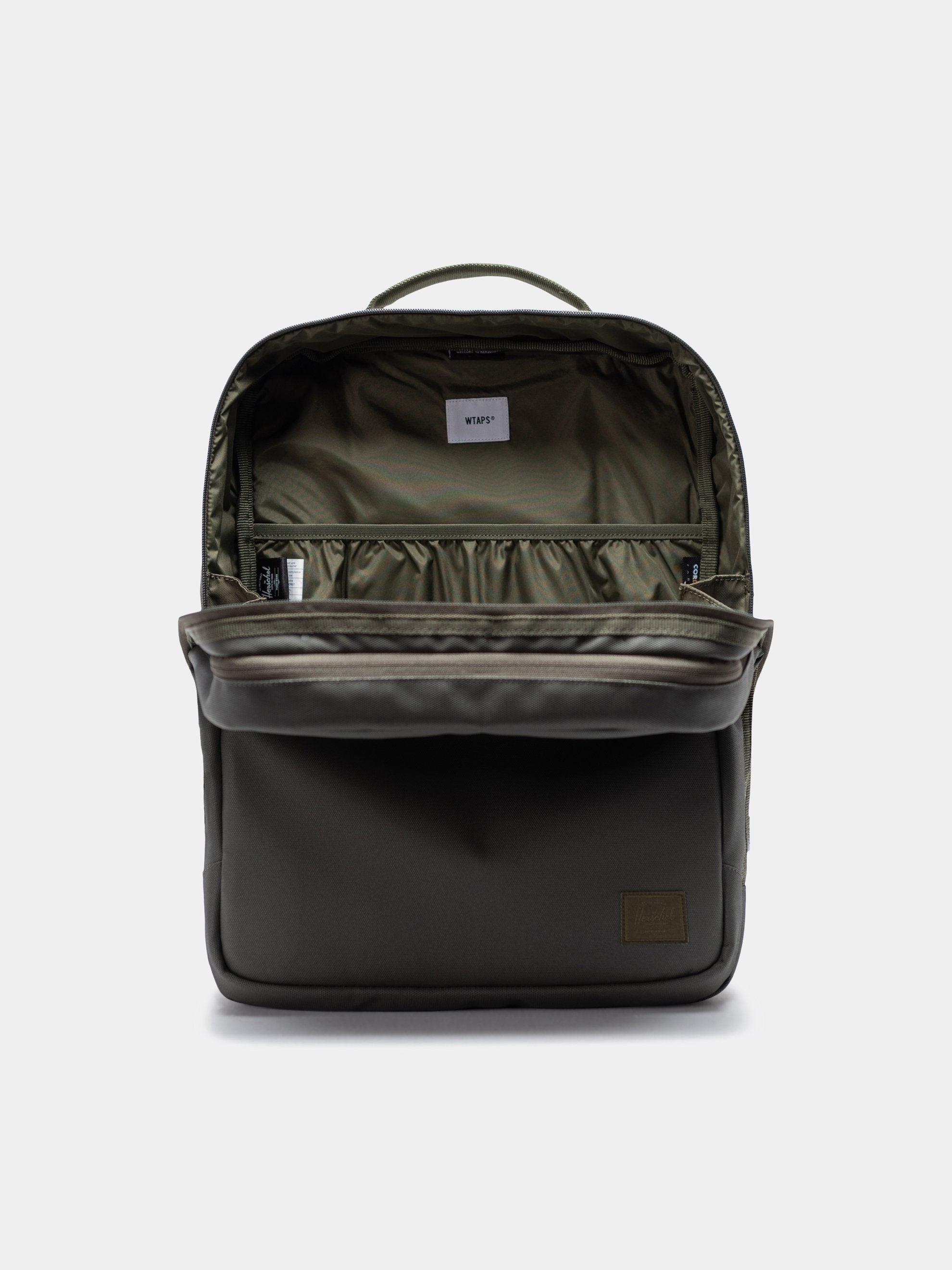 Burnt Olive Wtaps x Herschel Vessel Bag 2