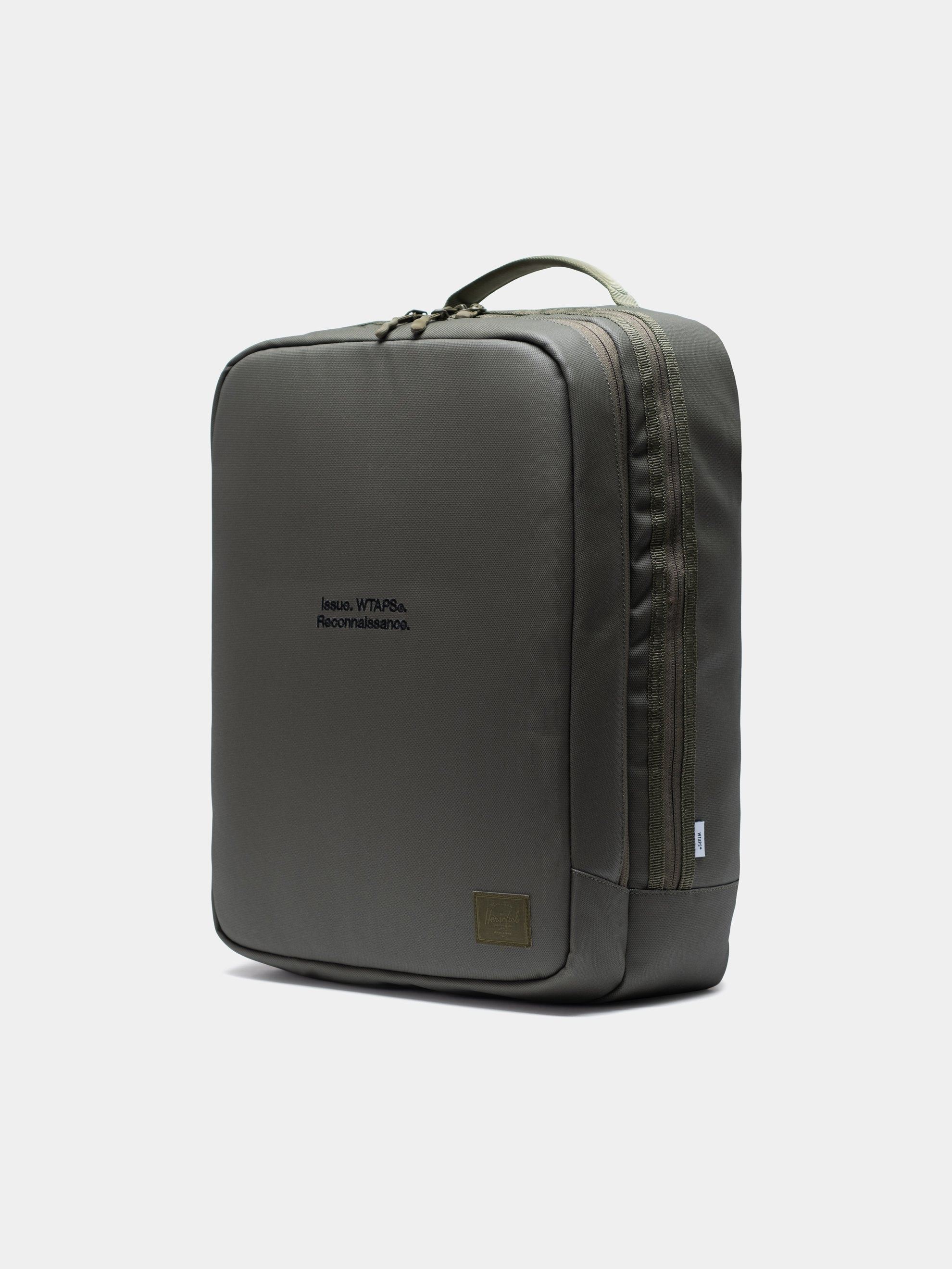 Burnt Olive Wtaps x Herschel Vessel Bag 4