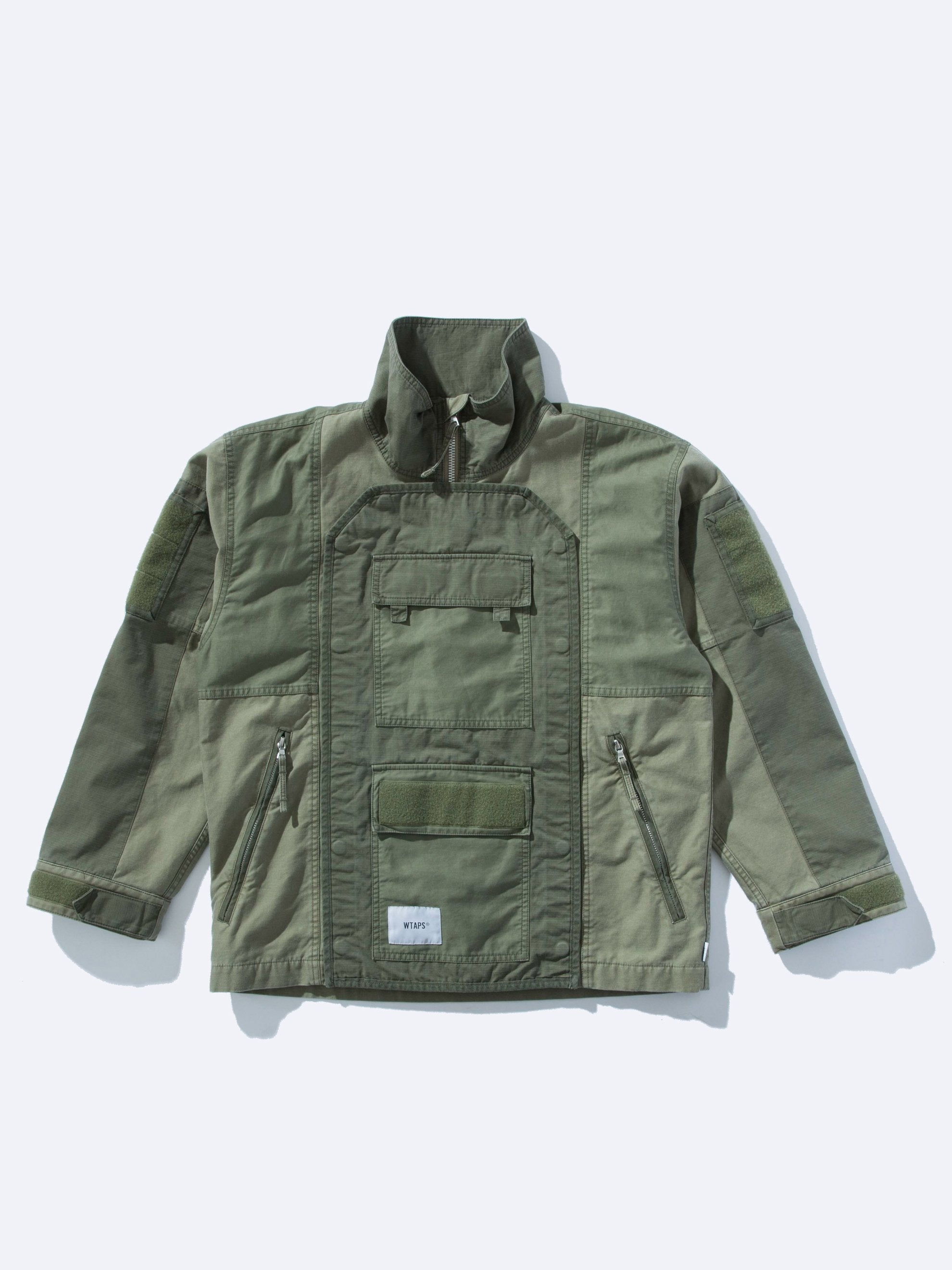 Olive Drab Dock Jacket 1