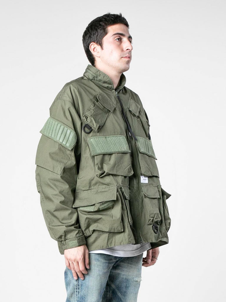Olive Drab Modular / Jacket. Cotton. Weather 413570113830989