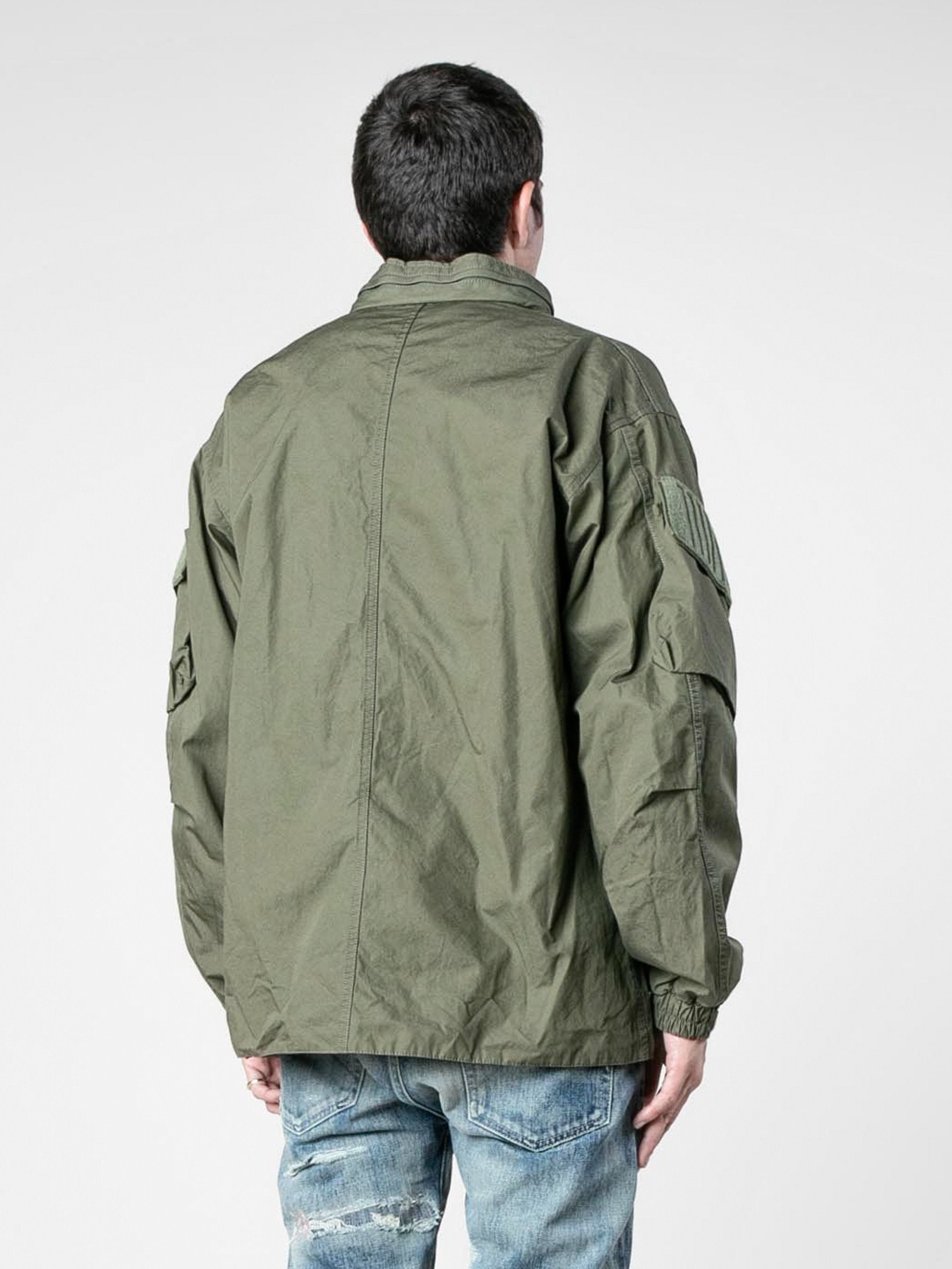 Olive Drab Modular / Jacket. Cotton. Weather 5