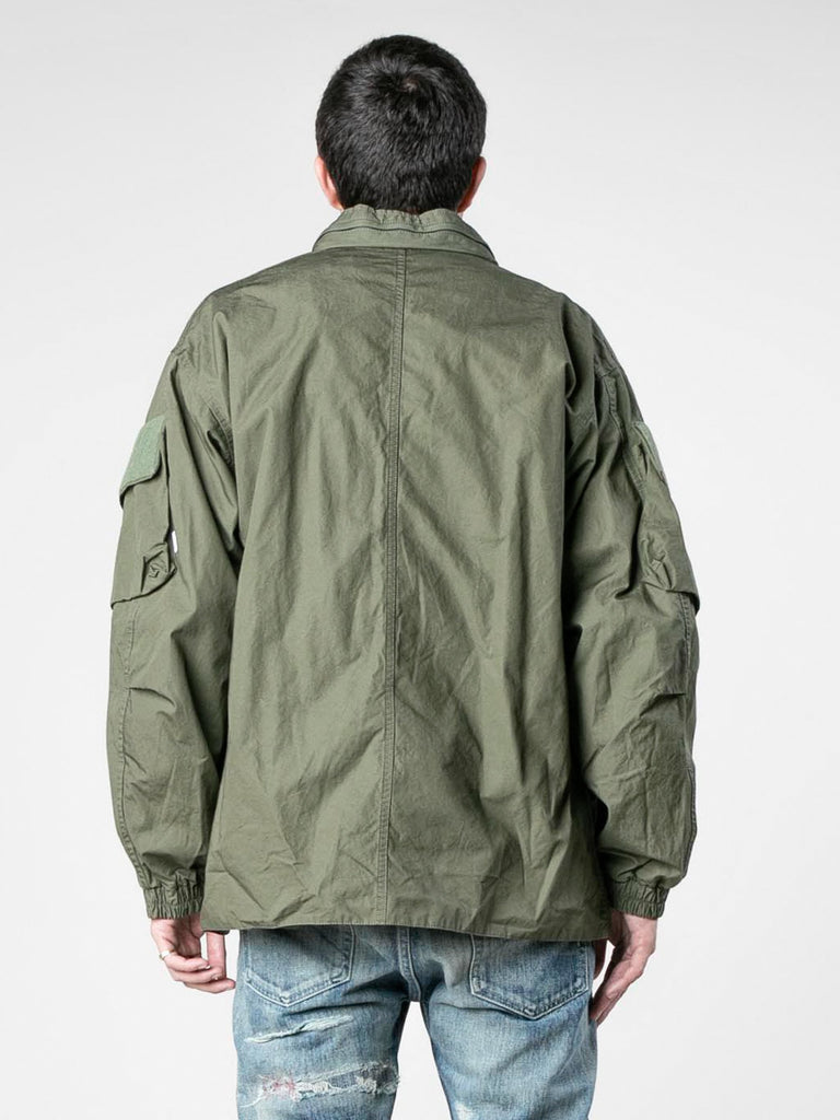 Olive Drab Modular / Jacket. Cotton. Weather 613570113896525