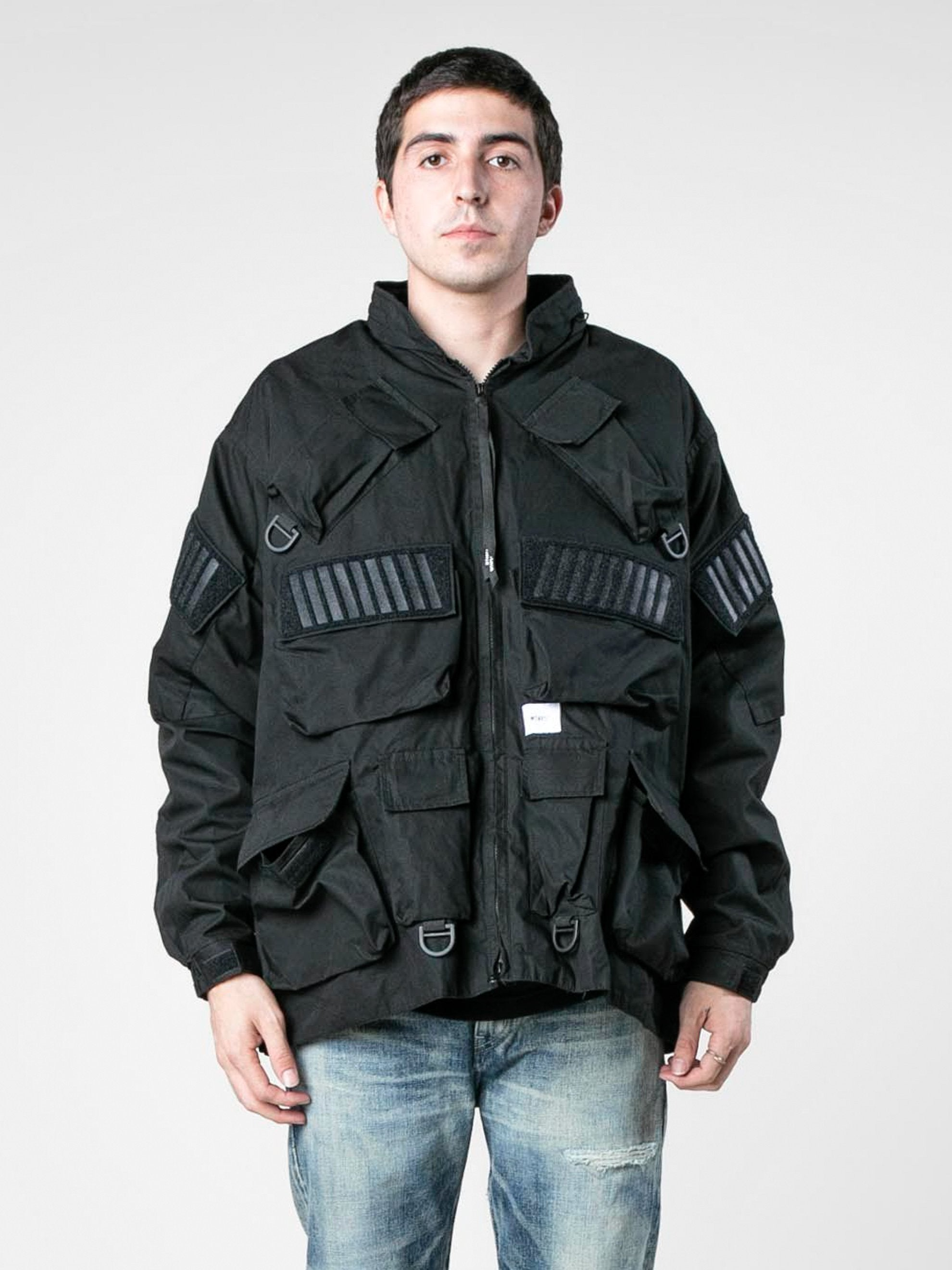 Black Modular / Jacket. Cotton. Weather 2