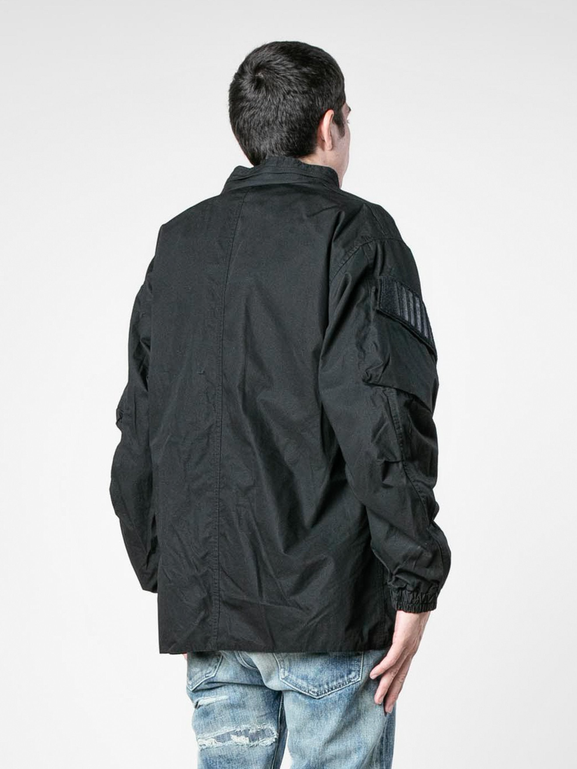Black Modular / Jacket. Cotton. Weather 5