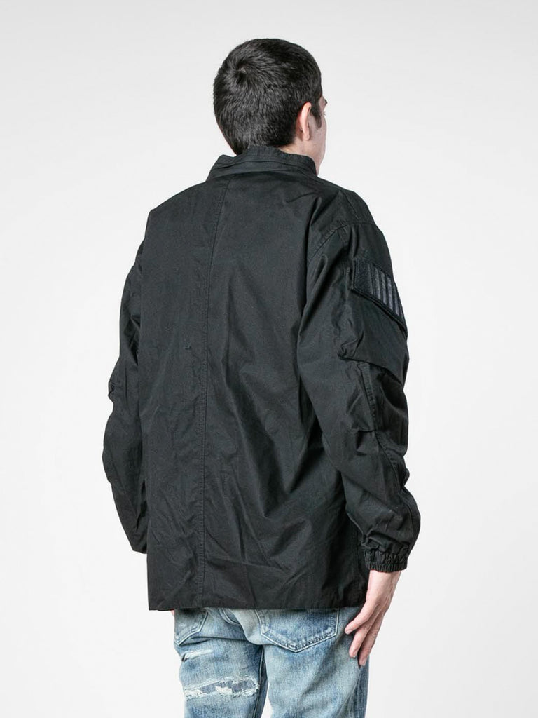 Black Modular / Jacket. Cotton. Weather 513570114453581