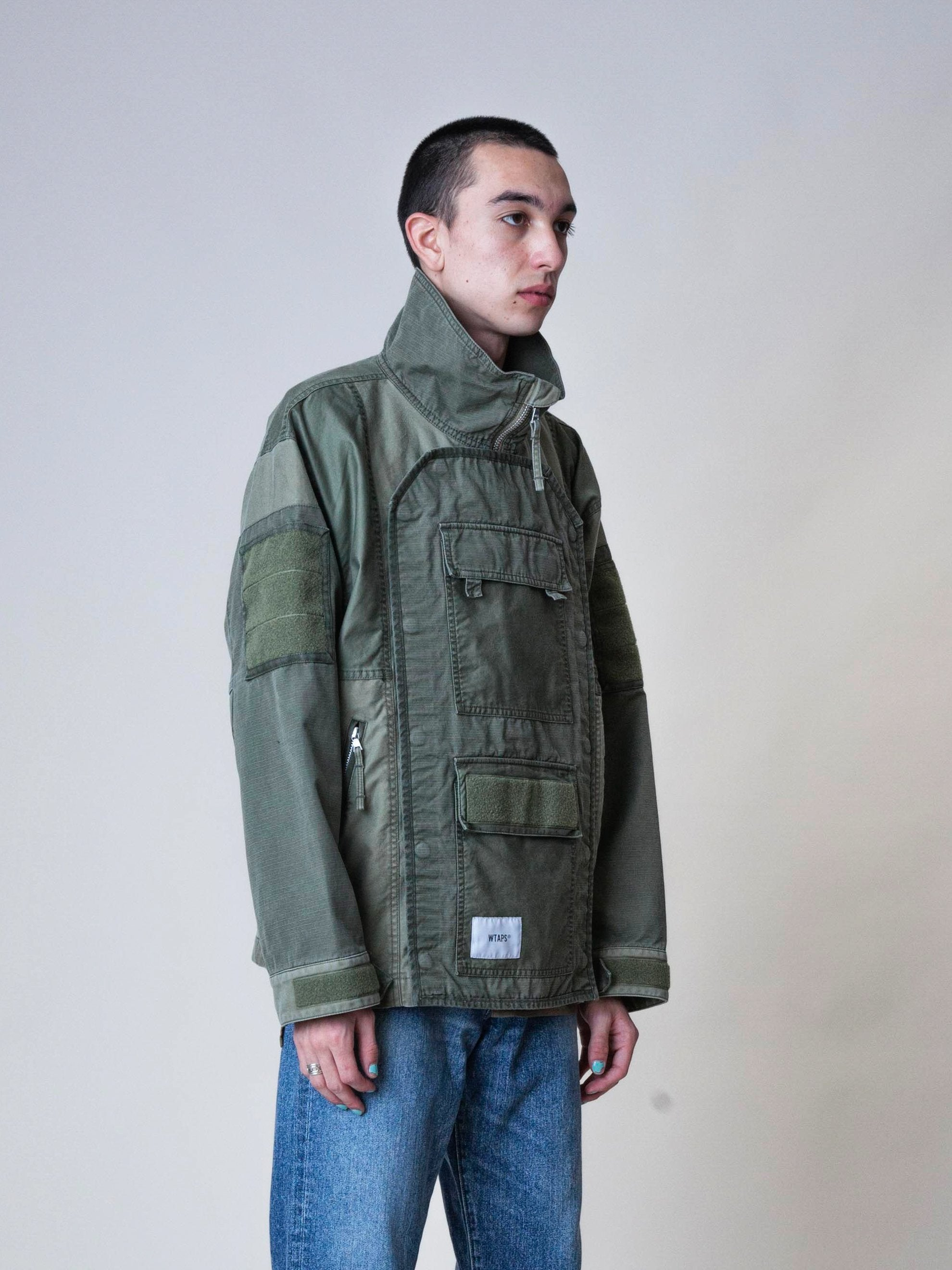 Olive Drab Dock Jacket 4