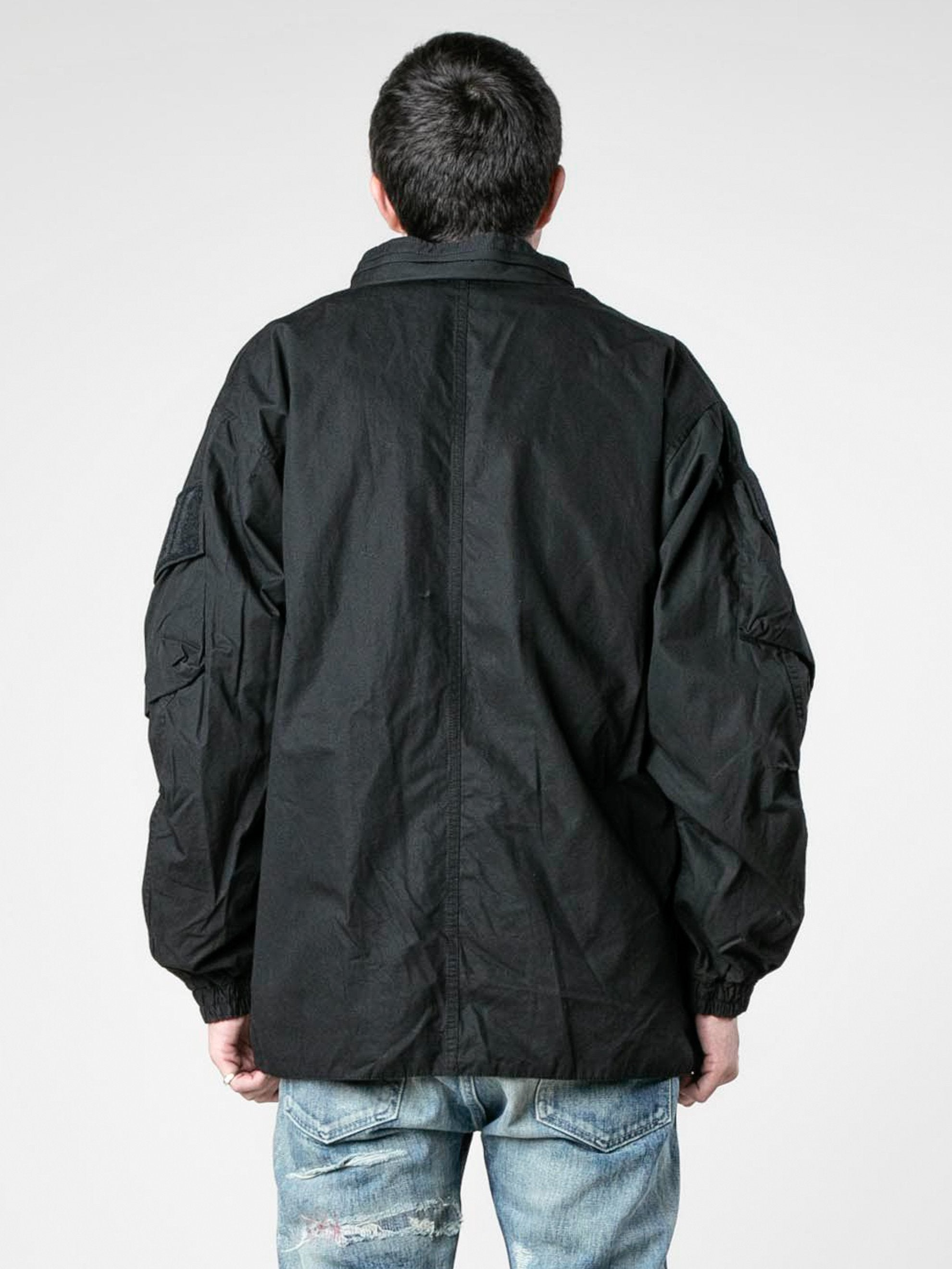 Black Modular / Jacket. Cotton. Weather 6
