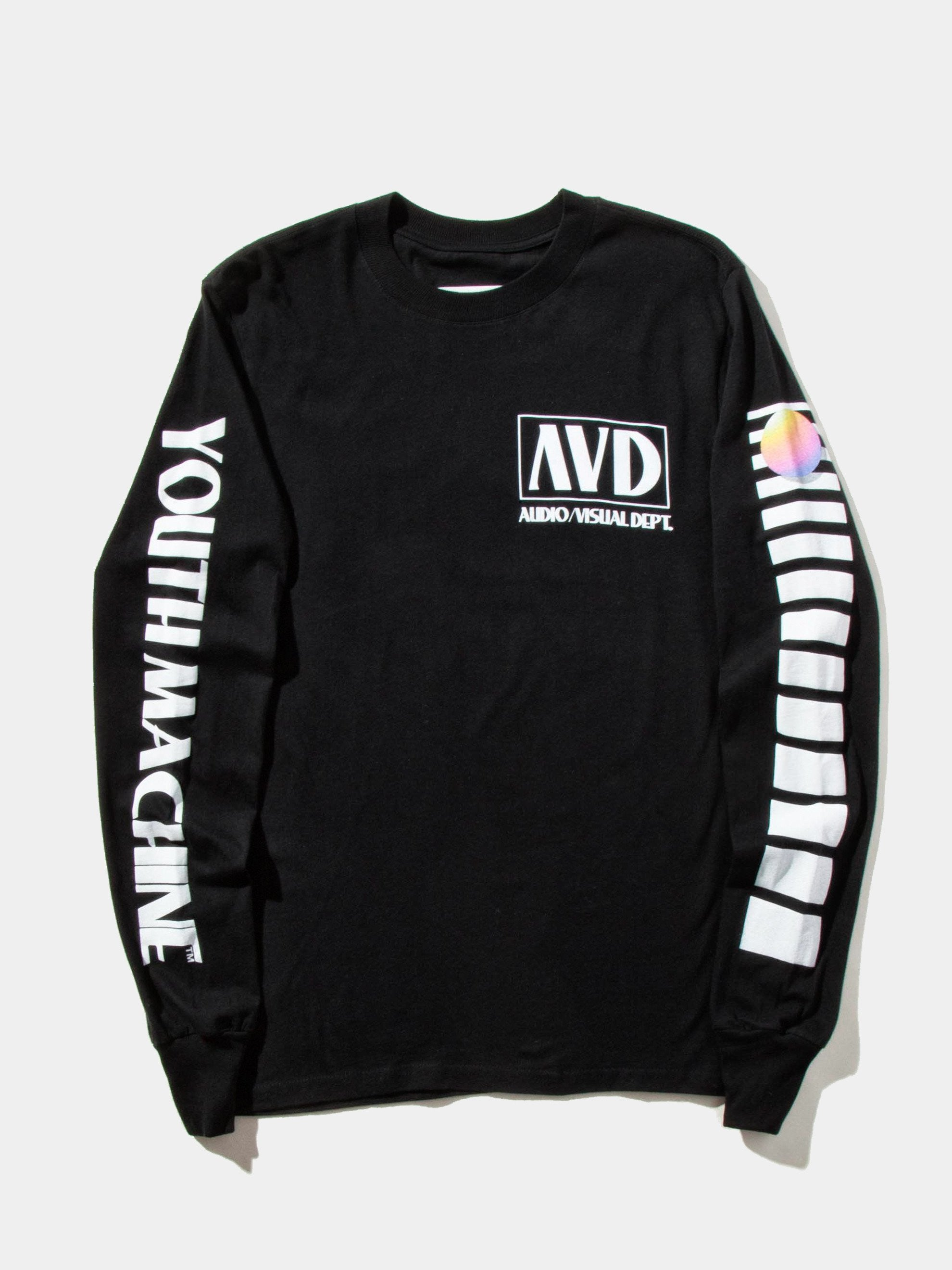 Black AV Dept. Cassette Long Sleeve T-Shirt 1