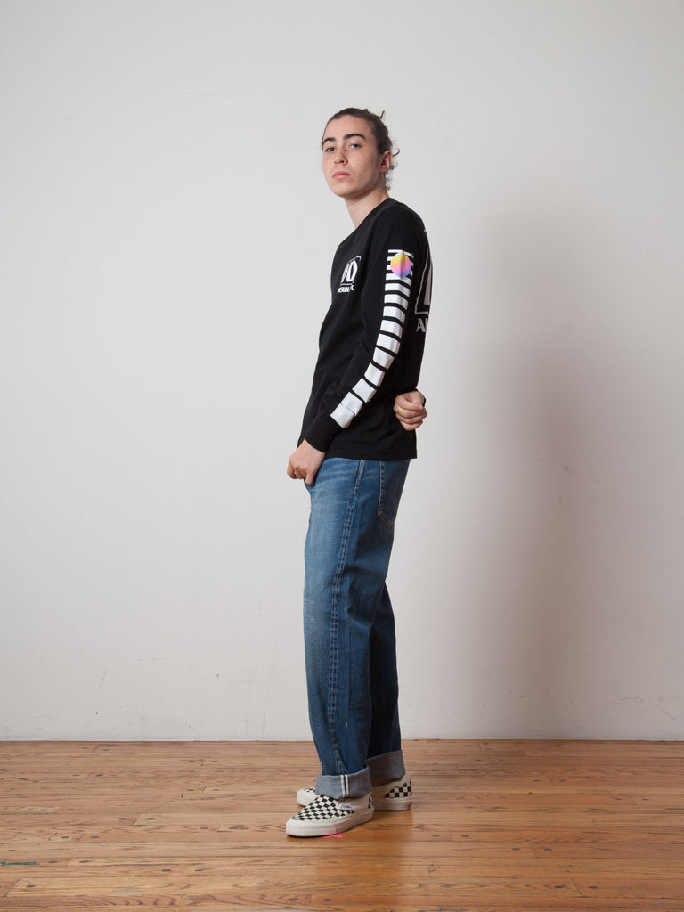 Black AV Dept. Cassette Long Sleeve T-Shirt 422705409545