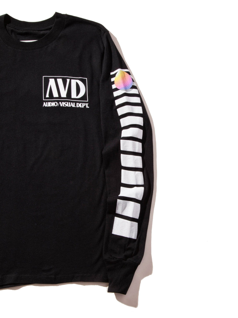 Black AV Dept. Cassette Long Sleeve T-Shirt 522719417225