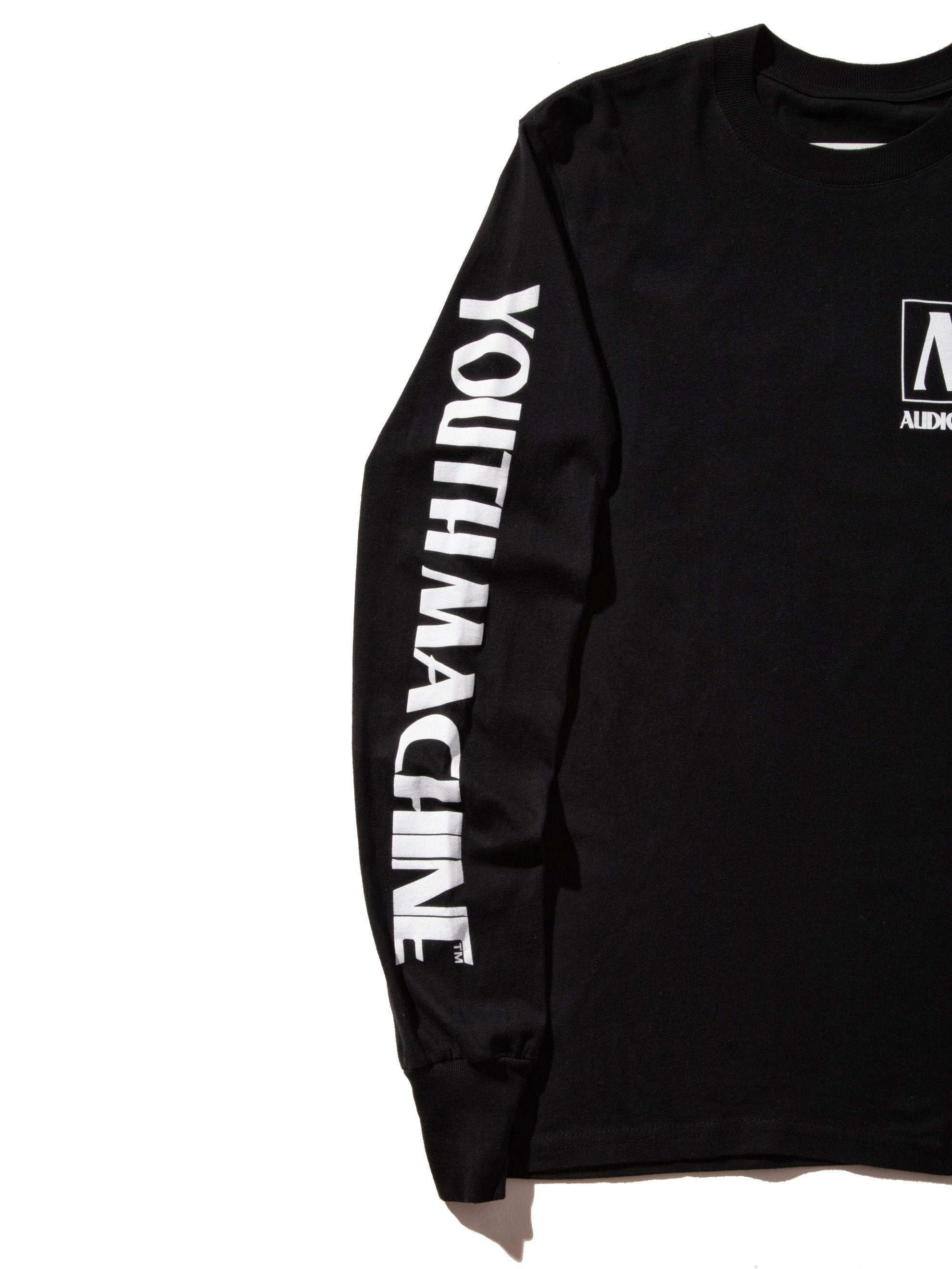 Black AV Dept. Cassette Long Sleeve T-Shirt 6