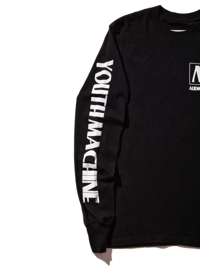 Black AV Dept. Cassette Long Sleeve T-Shirt 622719430217