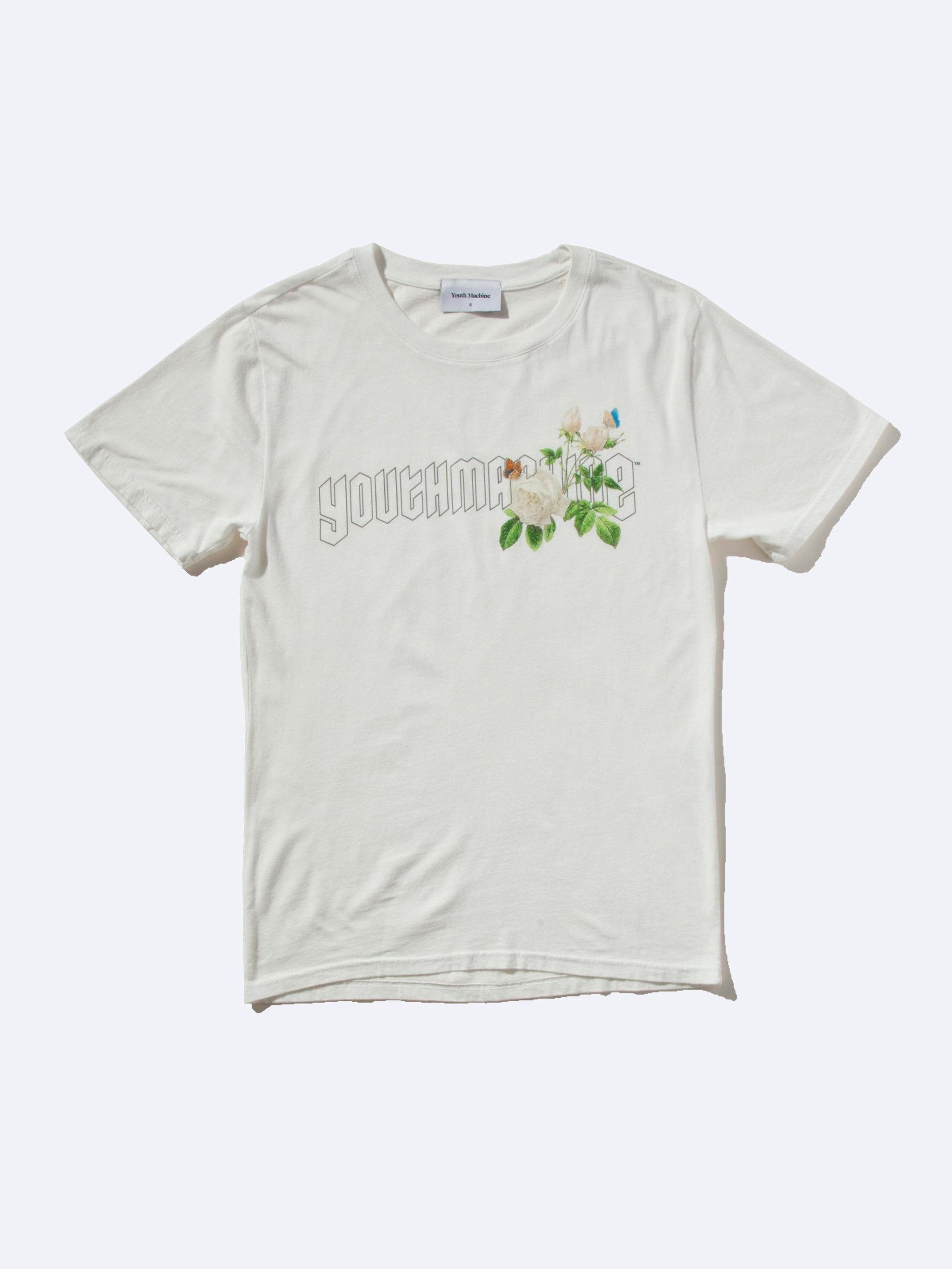 Dirty White Secret Garden T-Shirt 1
