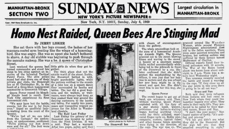 This Day in GAY History: Stonewall Riots - 1969