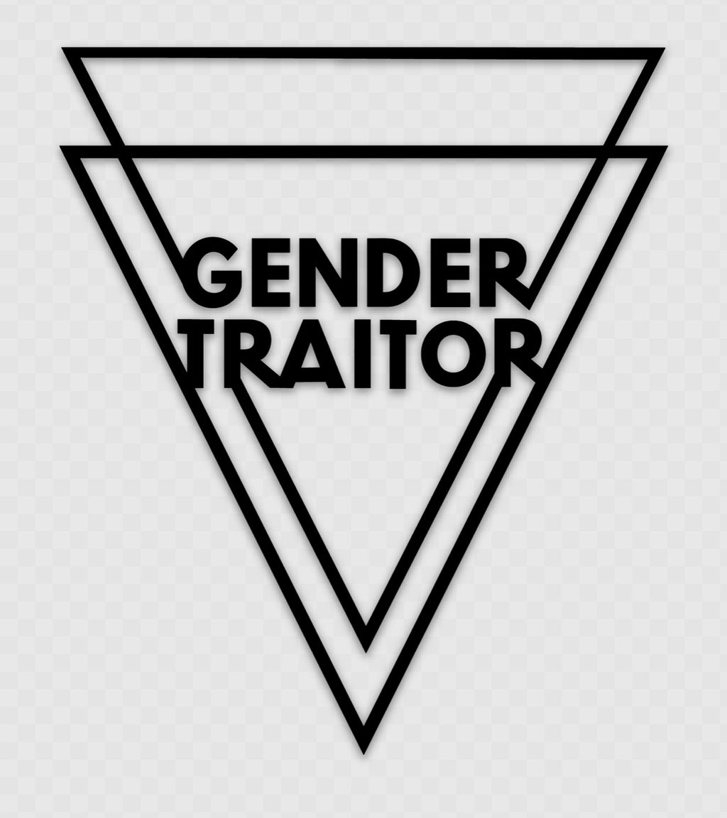 Gender Traitor Logo Decal