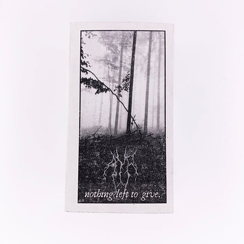 Ayr - Nothing Left to Give (Cassette)