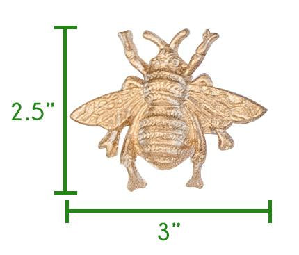 Regency Bee Napkin Ring Size Chart