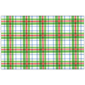 Holiday Plaid Placemats - The Preppy Bunny