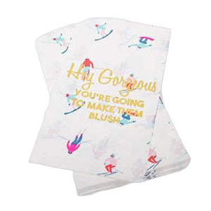 Ski Paper Guest Towels - The Preppy Bunny