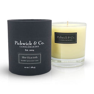 Pickwick & Co. Blue Hyacinth Candle - The Preppy Bunny