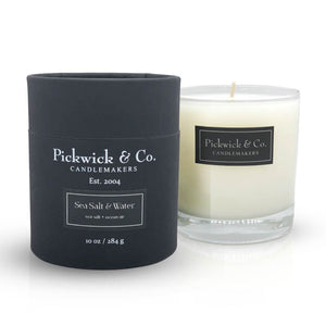 Pickwick & Co. Sea Salt and Water Candle - The Preppy Bunny