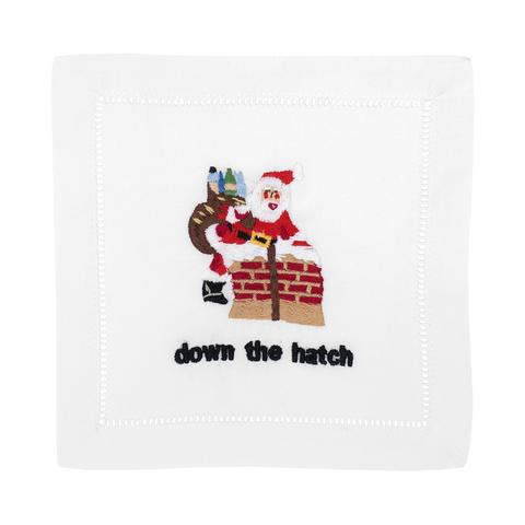 Down The Hatch Cocktail Napkins by August Morgan - The Preppy Bunny