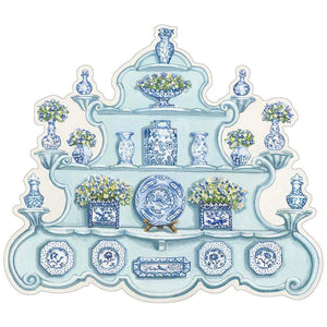 China Cabinet Die-cut Placemat - Sold individually