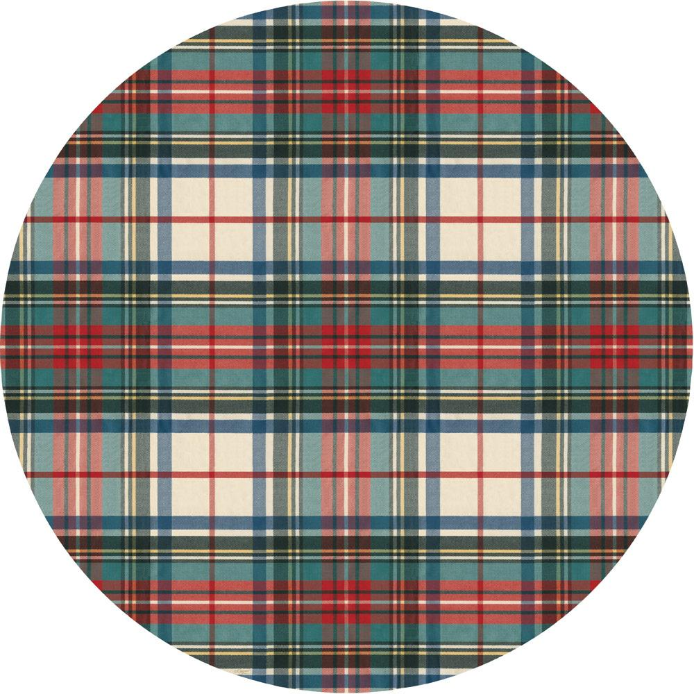 Dress Stewart Tartan Die-Cut Placemat - Sold Individually - The Preppy Bunny