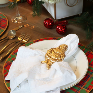 Santa Napkin Rings Set of 4 - The Preppy Bunny