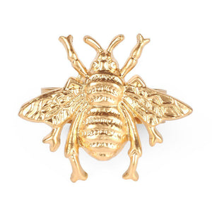 Regency Bee Napkin Rings Set of 4 - The Preppy Bunny