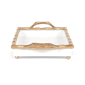 Color Block Bamboo Tray 10 x 14 - more colors available - The Preppy Bunny