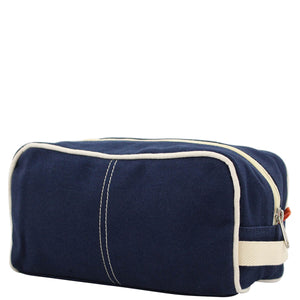 Dopp Kit in Navy - The Preppy Bunny