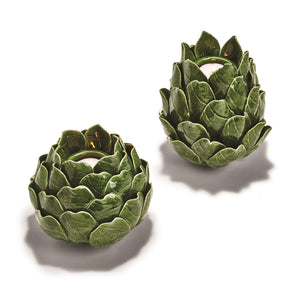 Artichoke Wide Tealight Candle Holder - The Preppy Bunny
